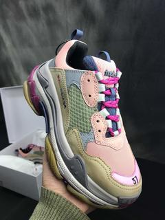Balenciaga Triple S women's shoes old shoes women's running shoes 01 36