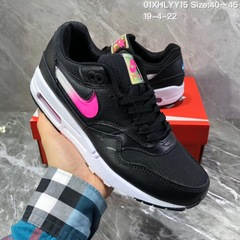 Nike Max1 air cushion jelly hook men and women sports shoes running shoes 01 36