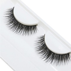 Handmade False Eyelashes Beauty Natural Dense Soft Long Cross Lashes Fake Eyelashes  Everyday Use as shown