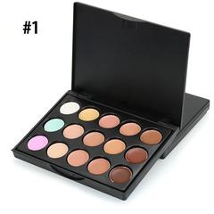 MIni 15 Colors Face Concealer Camouflage Cream Contour Palettes #1