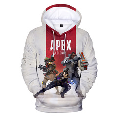 Apex Legends Heroes Big Runaway Game with 3D hooded sweater for men and women clothes 3 xxs