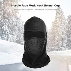 Winter Unisex Windproof Motorcycle Bicycle Face Mask Neck Helmet Cap Thermal Fleece Hat