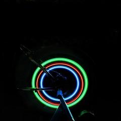 3 Change Modes of Bicycle Lamp LED Flash Lamp Spoke Lamp