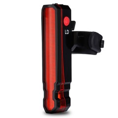 Bicycle Taillight USB Rechargeable Laser Lamp LED Rear Bike Light