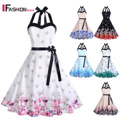 IFashion 1-item 2019 New White Flower Sexy Elegant Party Dress Summer Backelss dresses for women white s