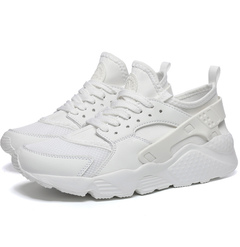 Summer plus-size men's shoes - classic white mesh light running men's shoes white 36