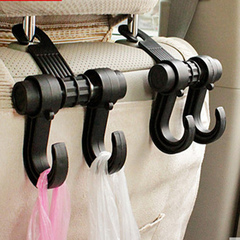 Multi-function vehicle hook multi-purpose vehicle hook black All code