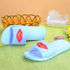 New lip slipper for non-slip summer home slippers in the bathroom sky blue 39