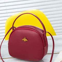 South Korea's casual one-shoulder bag for women's mobile phone bag red 1 a