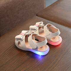 Summer 2019 baby sandals princess shoes for girls ages 1-5 beige 21