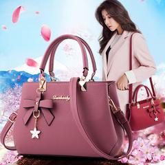 Women's bag 2019 new fashion big bag shoulder bag casual Messenger bag spring ladies bag handbag Khaki one size
