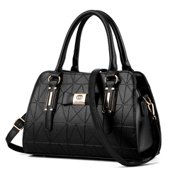 New Boston Women's Handbag Shoulder Crossbody Bag black one size
