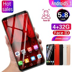 2019 New HD Big-screen SmartPhone Android Os 5.1 MTK6580 Octa Core Support Dual Card