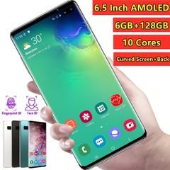 2019 Latest Generation 6.5 Inch 4G LTE Smartphone Global Version Mobile Phone black