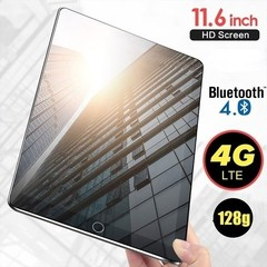 201911.6 Inch Ten Core 4G Network  WiFi Tablet PC Android 7.1 Screen Dual SIM Dual black