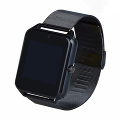 Smart Watch Metal Steel With Card Calling Bluetooth Smart Wear black 1.54 inches