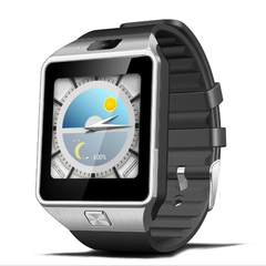 3G WIFI Smart Watch Suppot Android And APP Download silver xl