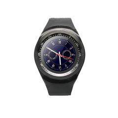 Smart Watch Round Screen Call Watch Card Sport Bluetooth Watch black xl