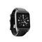 Smart Watch WIFI Bidirectional Positioning Flash Application Download black