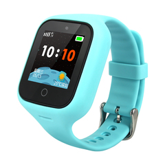 Children's smart phone watch, junior high school students, genius, multi-function waterproof Blue 45.1 * 37.8 * 13.7mm