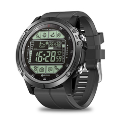 Smart watch bracelet 50 meters waterproof long standby fitness smart watch Black XL
