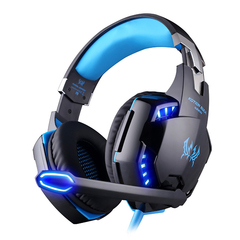 KOTION EACH G2200 USB 7.1 Surround Sound Vibration Game Gaming Headphone Computer Headset white