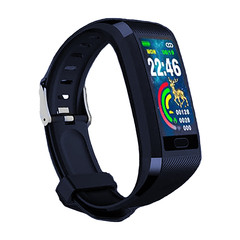 Smart watch IP67 waterproof and dustproof sports heart rate and USB direct charging black xl