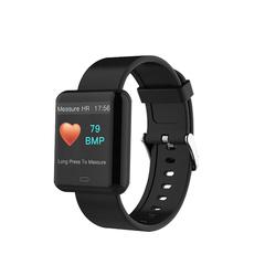 Bluetooth Smart Watch Touch Screen Smart Blood Pressure Pedometer Sport Fitness Tracker Watch knight black xl