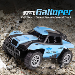 4WD Remote Control Truck Long Distance Multi-Player Toy blue xl