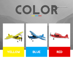 Light Weight Highly Elastic Glider Remote Control Aircraft blue xl