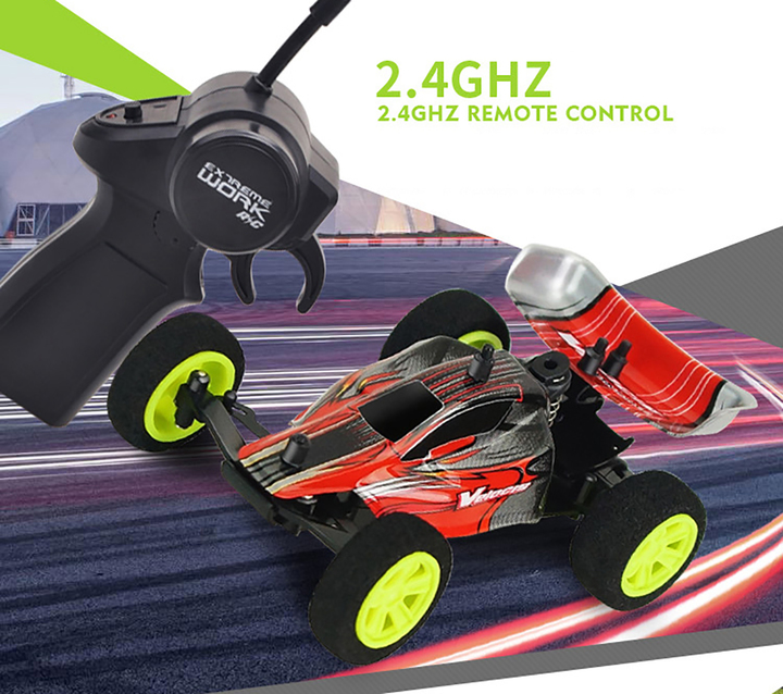 1:32 Mini High Speed Remote Control Car Multi-Player Toy red xl