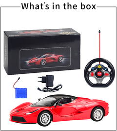 1:14 Remote Control Car Multi-Player Toy Red xl