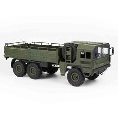 Six Wheel Drive Remote Control Military Truck RC Toy army green 43.5 x 14.5 x 16 cm