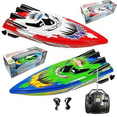 Radio Control Long Running Time Remote Control Racing Boat red 32 x 9 x 10.5 cm