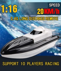 Long Range Control Distance Multiplayer 2.4GHz Remote Control Racing Boat black 29 x 11 x 10 cm