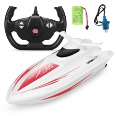 Long Range Control Distance Multiplayer 2.4GHz Remote Control Racing Boat red 29 x 11 x 10 cm