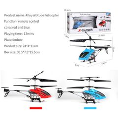 Alloy Steel Helicopter Long Flying Time Remote Control Aircraft red RCA-33088WX