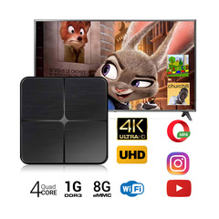 T96 Mini Android 4K HD TV Box 1G+8G H2.65 Rk3229 Quad Core 2.4G Wifi Set-Top Box kodi Media Player