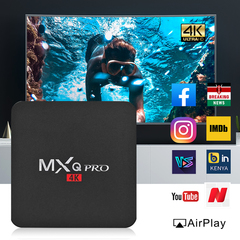 MXQ PRO Android 4K HD TV Box RK3229 Quad Core 1G+8G WIFI Set-top Box kodi Media Player
