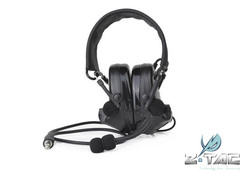 Airsoft Z041 ZComtac II Headase Element Noise Cancelling Headset Upgraded Tactical Ear Protector BK