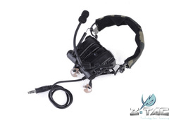 Z-TAC COMTAC IV Noise Reducing Soundproof Earplugs Electronic Protector Headset Z038 bk