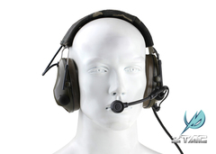 Z-TAC Airsoft Aviation Peltor Sound-Trap Headset Military Noise Cancelling Headphones Z042 as picture