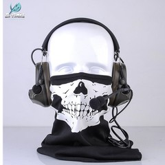Z-TAC Z041 ZComtac II New Material Noise Cancelling Headset Airsoft Headphones For Shooting bk