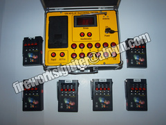 fireworks firing system 24cues wireless remote control fireworks system black 35*25*20cm