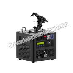 Sparkular fall machine to make sparkler like waterfall in stage, bar, show