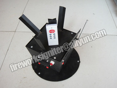 Revolving stage fountain fireworks firing system black 35*35*30cm