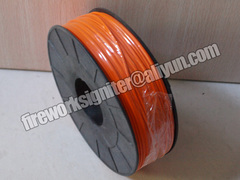 fireworks wire 0.45mm copper electric wire to make fireworks igniter and fireworks display 8rolls orange 45*45*22cm