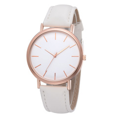 2019 Fashion Women Watches Ladies Watches Leather Stainless Steel Luxury Clock Wristwatch for Girl white