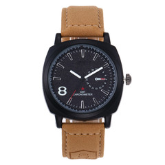 2019 Curren Men Watch Fashion Sport Leather Wristwatches  Matte Leather Watch Band 8 Mens Watches black