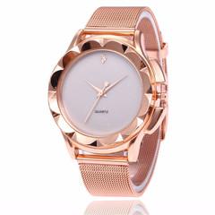 2019 Luxury Women Watches Ladies alloy steel Casual Fashion Gold Female Quartz Wristwatches white